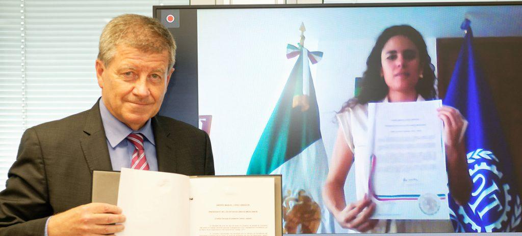 """México salda su deuda histórica con las 2,3 millones de trabajadoras domésticas al ratificar el """"Convenio 189"""""""